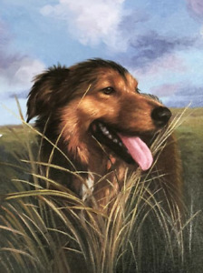 Beautiful Pet Oil Portraits from your Photographs