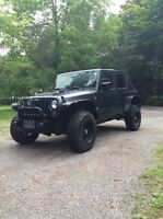 2007 Jeep Wrangler unlimited X 4 door
