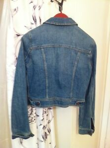 Denim Jacket, short, American Eagle Kingston Kingston Area image 2