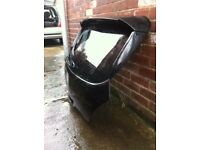 Vauxhall corsa D rear hatch with genuine irmscher spoiler kit