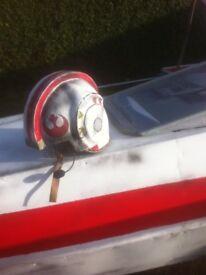 Star war helmet red 5