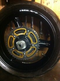 Gsxr 600 750 k4 k5 front and back wheels