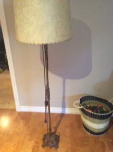 Solid brass antique floor lamp