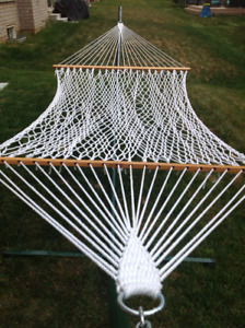 Hatteras Double Hammock with Stand
