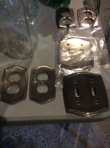Assorted matching cover plates