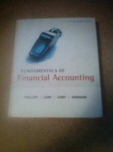 Foundations of financial accounting textbook