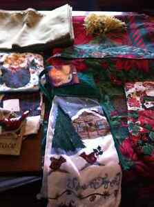 Lot of christmas crafts and other christmas items