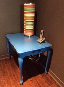 Table de salon relooké