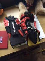 Easton stealth rs lacrosse gloves