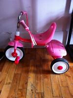 Tricycle fille Radio flyer