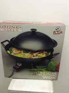 Governor's Electric Wok - Never Used!
