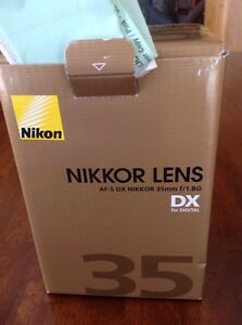 Nikkor prime lens F1.8  still under warranty Prince George British Columbia image 1