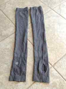 Lululemon arm warmers xs/s - running