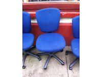 Small Office Desk + Swivel Chair