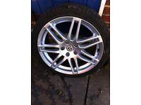 "Audi/vw 18"" alloys 5x112 fitment"