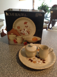 5 piece stoneware brand new in box