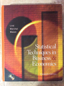 Statistical Techniques in business & Economics $5.00