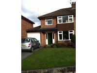 Double room with bathroom in Shared House walking distance to Bramhall Village