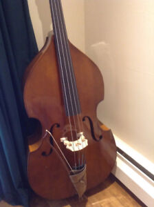 DOUBLE BASS WITH DIGITAL CHROMATIC AUTO TUNER