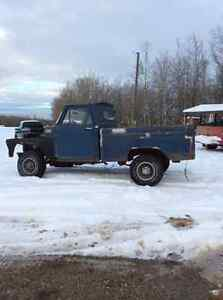 1965 gmc project short bed 4x4 pickup