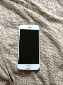 iPhone 6 white and gold