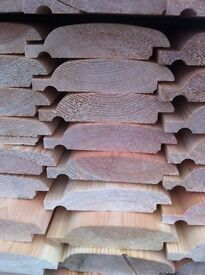 Log cladding
