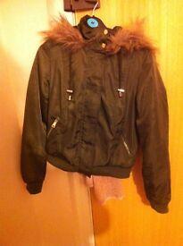 Select green jacket