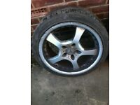 """Two sets of mercedes fitment 18"""" alloys"""