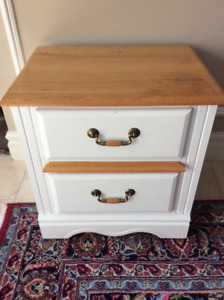 Solid Wood Night Stand.