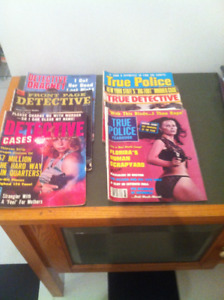Vintage Police / Detective Magazines (6)