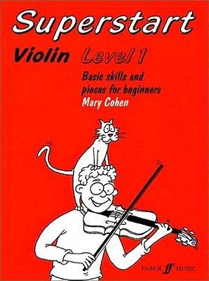violin SUPERSTART Level 1, Mary Cohen, Faber