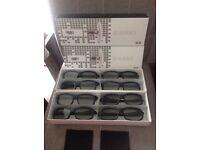 8 FPR 3D panel tv cinema glasses