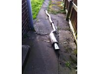 Subaru legacy turbo stainless steel exhaust