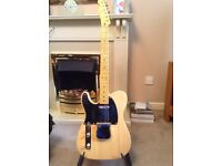Lefty Classic Vibe Telecaster and Vox Amp