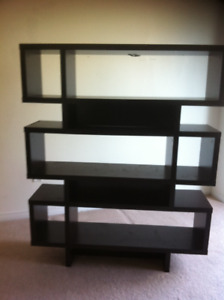 TV stand with fire place