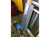 Steel lintel.