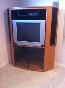 TV and Corner TV stand for sale