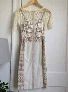 Stunning Ivory lace dress