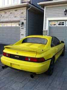 1991 Toyota Mr2 original Canadian turbo Mr2 with twin entry
