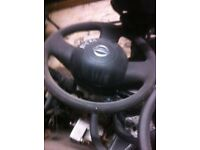 Nissan micra steering with airbag