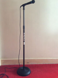 Mic Stand And Microphone