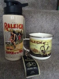 NEW Raleigh mug and flask