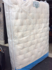 Queen Royal mattress and box spring