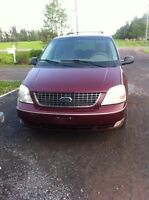 REDUCED PRICE!! 2007 ford freestar