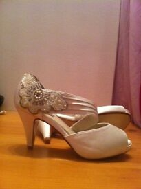 Women's size 3 bridal shoes by Next, new