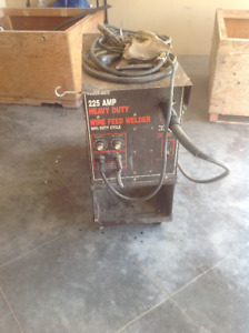 Heavy duty welder
