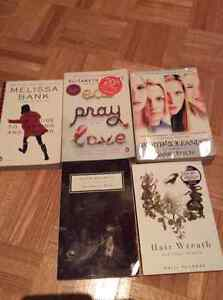 EAT PRAY LOVE/THE HAIR WREATH - All books read only once
