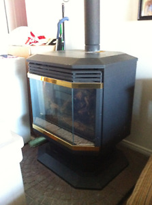 Propane Fireplace / stove for sale
