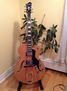 Hagstrom Jazz Model HJ-600 Semi-Hollow Electric Guitar