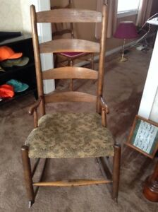 Antique Acadian chair